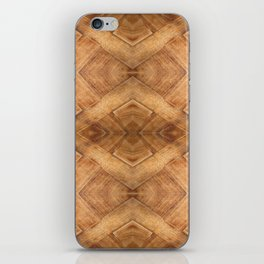 Wooden Table (pattern) iPhone Skin
