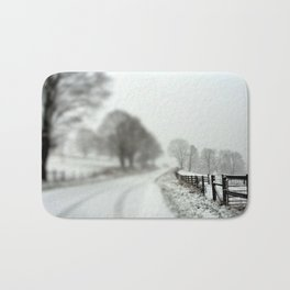 cold fence Bath Mat
