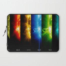 Solar Flare Rainbow Laptop Sleeve