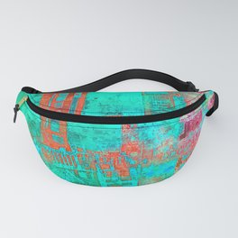 Abstract Ladder Fanny Pack