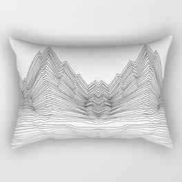 Graphic Line mountain Rectangular Pillow