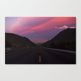 Palm Springs Tramway Sunset Canvas Print