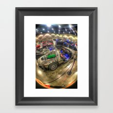 Lets Go Back to the Future! Framed Art Print