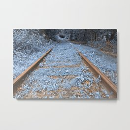 Railway to Blissful Oblivion Metal Print