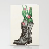 shoe Stationery Cards featuring Shoe Bouquet II by The White Deer