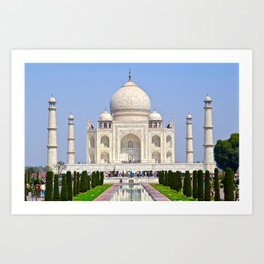 The Taj Mahal India Art Print