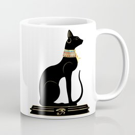 Egyptian Cat Sphynx Coffee Mug