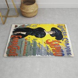 Vintage poster - Sapho Rug