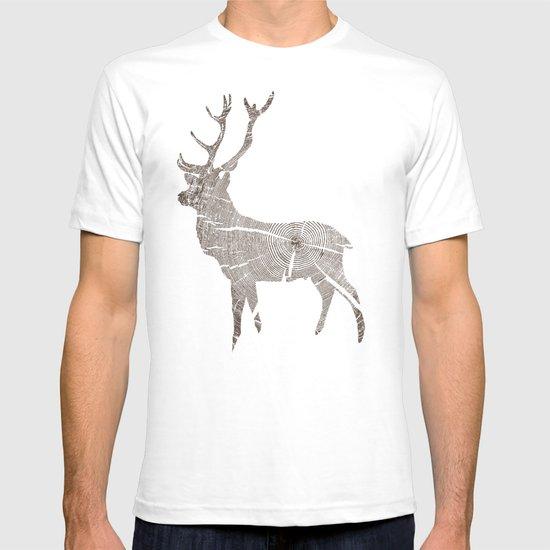 Wood Grain Stag T-shirt