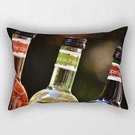 France Germany Spain Bottles of Wine Rectangular Pillow