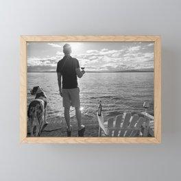 Life Seaside Framed Mini Art Print