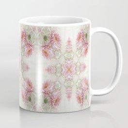 Pink Chrysanthemums Kaleidoscope Art 1 Coffee Mug