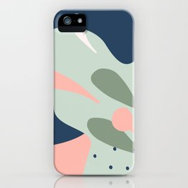 Nature Geometry 02 iPhone Case