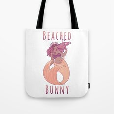 Beached Bunny Tote Bag