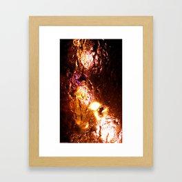 Macroscopic part 1 Framed Art Print