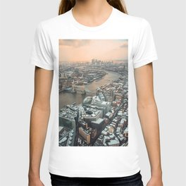 London from above T-shirt