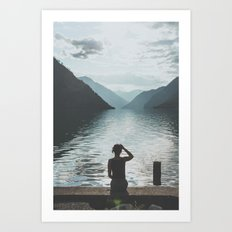 Seton Lake II Art Print