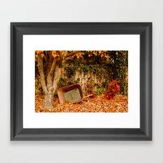 Autumn in Alabama Framed Art Print
