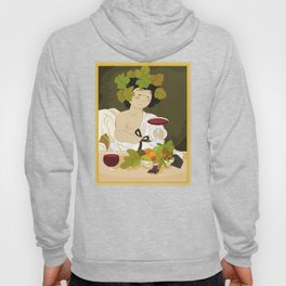 Bacco by Caravaggio Hoody