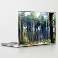 woods Laptop & iPad Skins featuring Woods by madbiffymorghulis