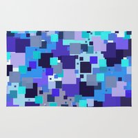 square Area & Throw Rugs featuring square by sladja