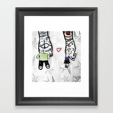 Inkling of Love  Framed Art Print
