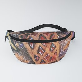 raptors 4,champion,basketball,gold,poster,wall art,2019,winners,NBA,finals,toronto,canada,painting Fanny Pack