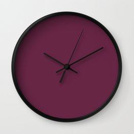 Purple Potion Wall Clock