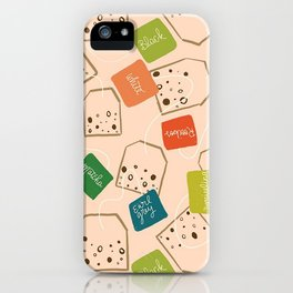 A Tangle of Teas iPhone Case