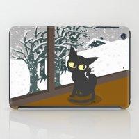 snow iPad Cases featuring Snow by BATKEI
