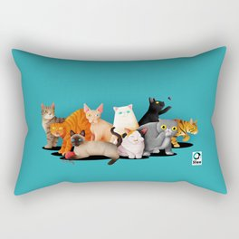 Gatos / Cats Rectangular Pillow