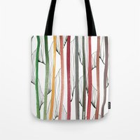 stripes Tote Bags featuring STRIPES by u t a
