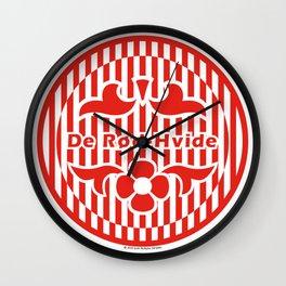 Denmark De Rød-Hvide (The Red-White) ~Group C~ Wall Clock
