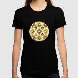 Native American colorful traditional navajo pattern T-shirt