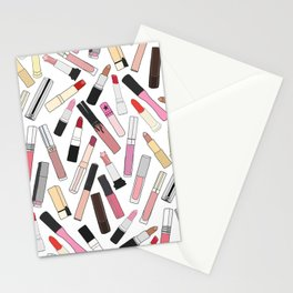 Lipstick Party - Light Stationery Cards