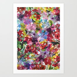 Hummingbird Haven Art Print