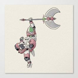 Knight Robo PHI Canvas Print