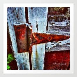 Rusty Creak Art Print