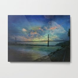 Hudson River Rapture Metal Print