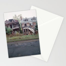 Abandoned Houses Stationery Cards