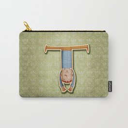 illustrated T Carry-All Pouch