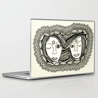 sisters Laptop & iPad Skins featuring Sisters by NazreenNizamRao