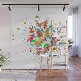 Australian Native Florals - Graphic Wall Mural
