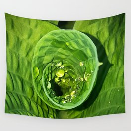 Spiral Drops Wall Tapestry