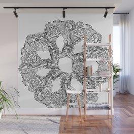 shapefunflower Wall Mural