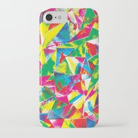 rave iPhone & iPod Cases featuring Rave Paint by Mariah Williams