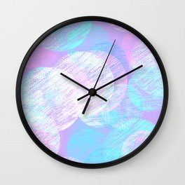 Cosy Circles || 3 Wall Clock