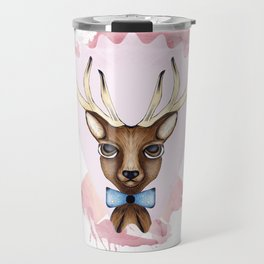 Pink Deer - Ciervo Rosa Travel Mug