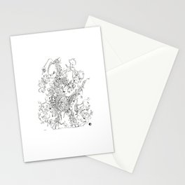 MEWTWO DOODLE Stationery Cards