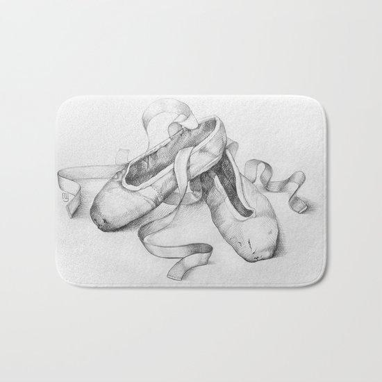 Ballet shoes Bath Mat